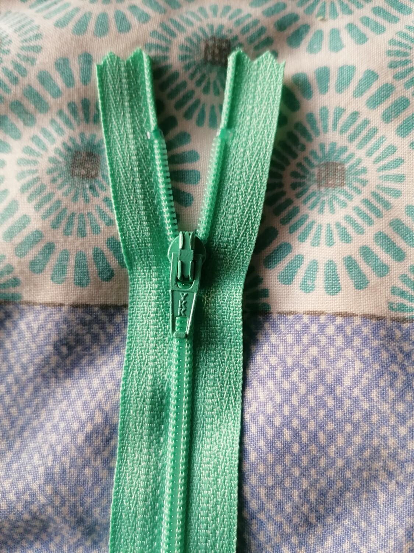 """13cm (5"""") nylon skirt & trouser zip Mint"""