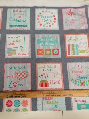 Benartex - My Happy Place - sew wordy