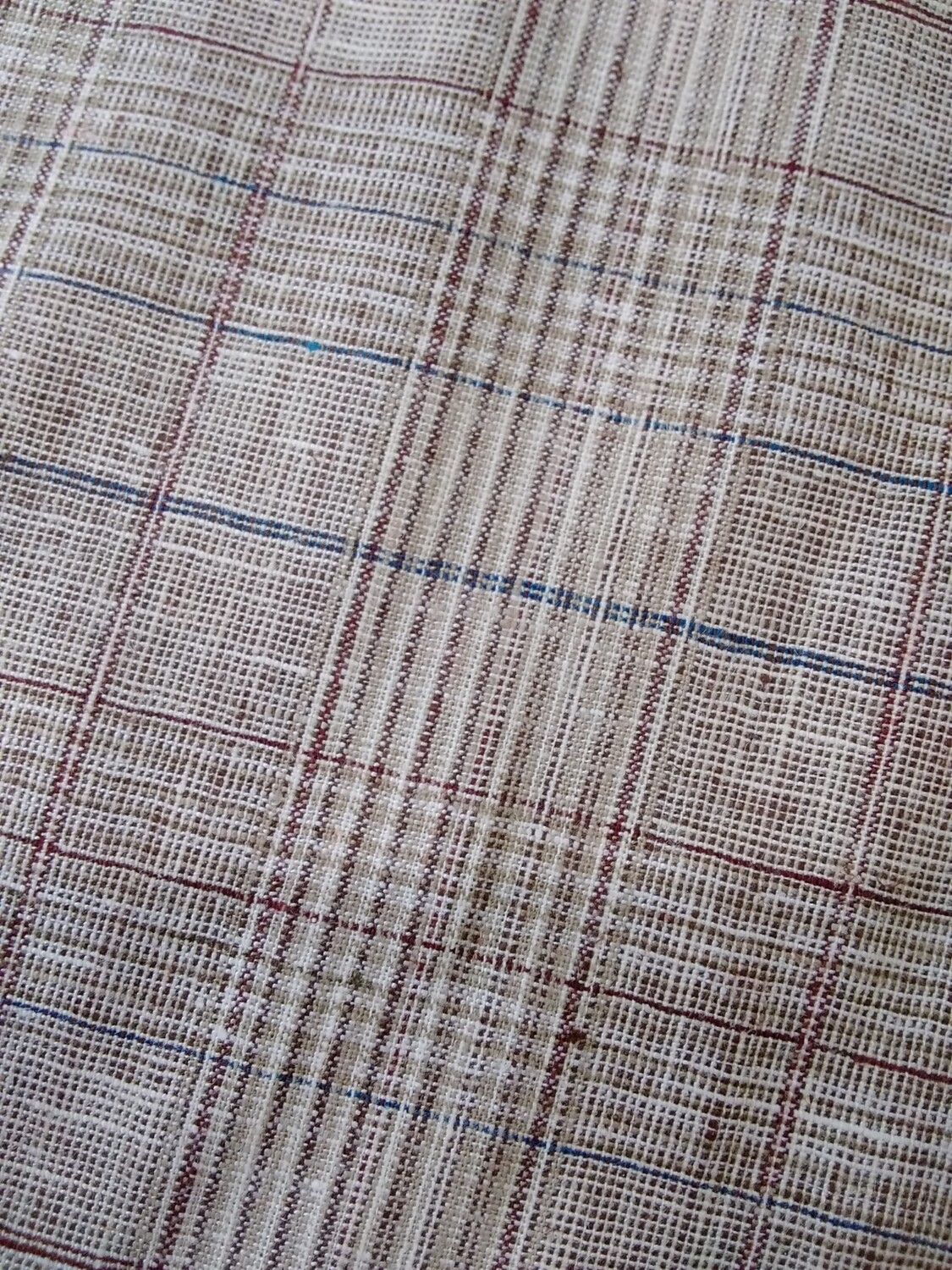 Linen Check Suiting