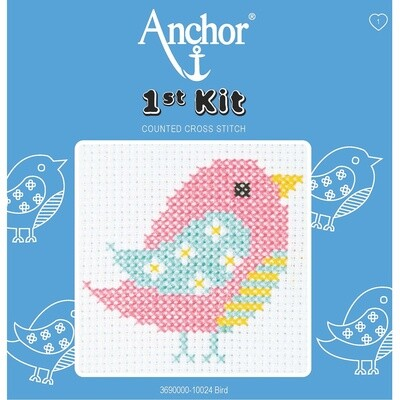 1st cross stitch Kit: Bird