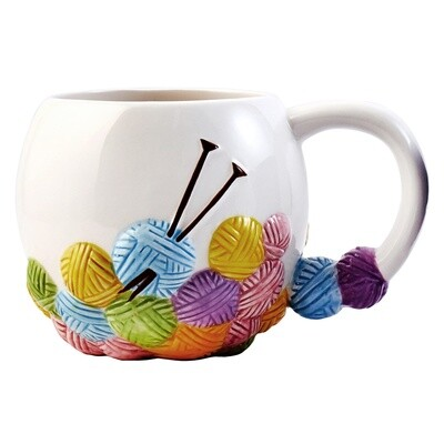 Mug: Knitting Design