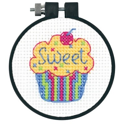 Learn-a-Craft: Counted Cross Stitch: Cupcakes