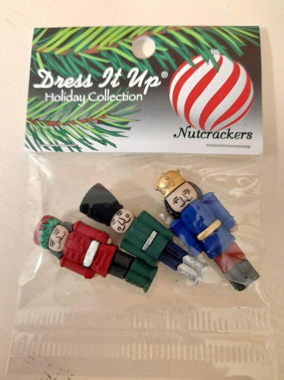 Nutcraker Buttons