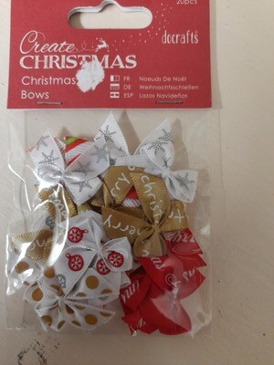 DoCrafts Create Christmas - Christmas Bows