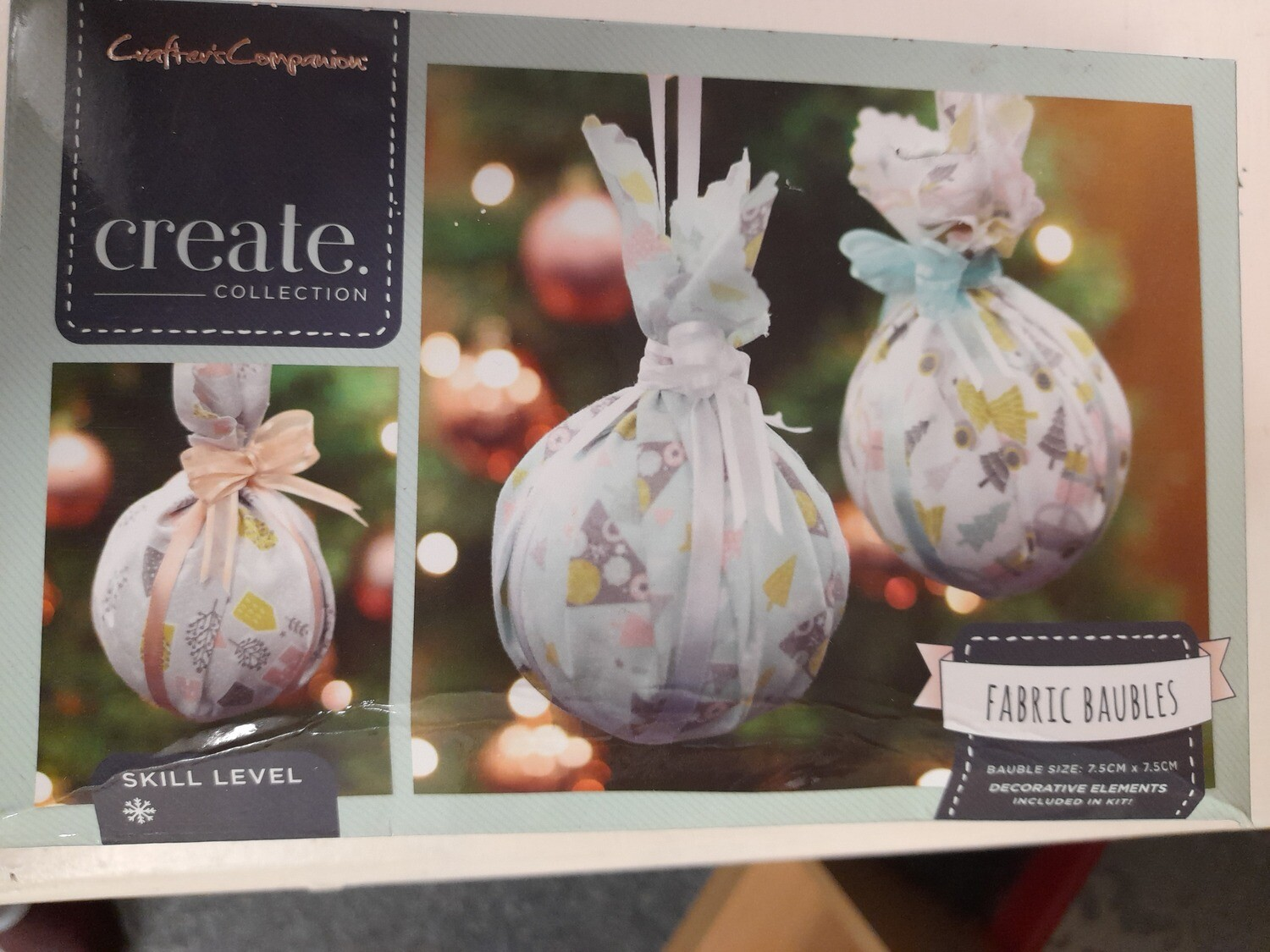 Create Collection - Fabric Baubles
