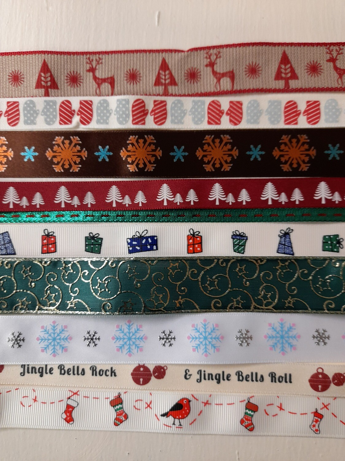 Wrapping Ribbon Pack- 10x1 metres