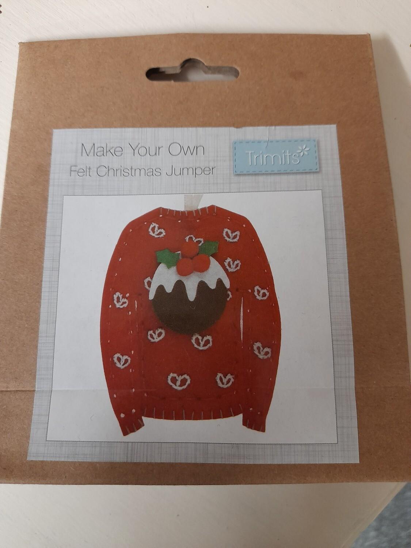 Felt Kit - Make Your Own Christmas Jumper