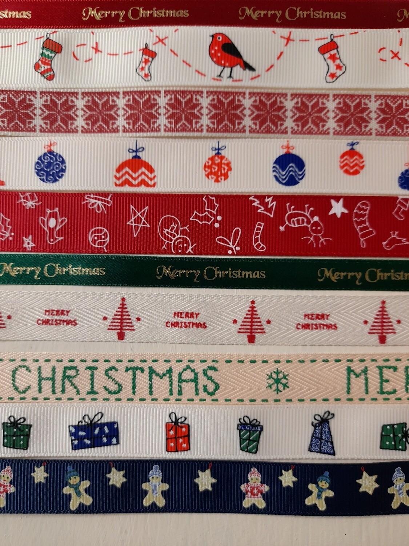 Christmas Wrapping Ribbons