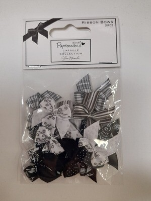 DoCrafts Bows - Black & White