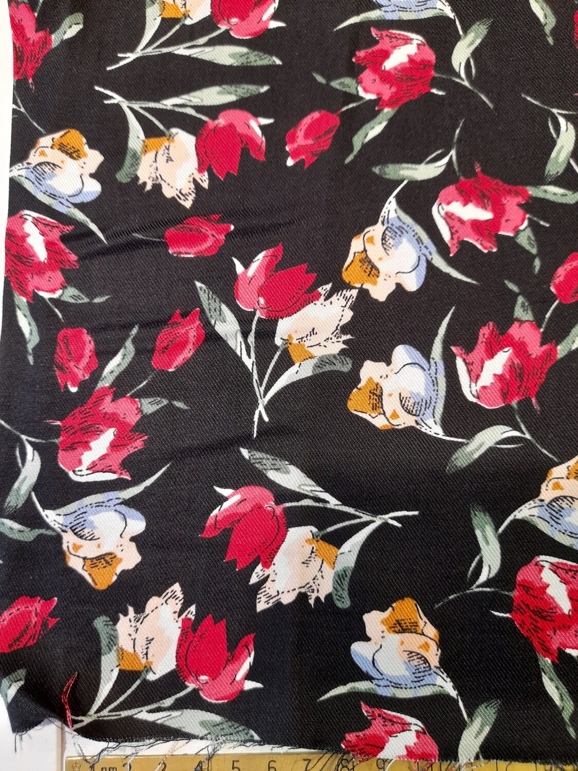 Viscose Twill - Flowers