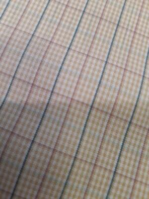 Cotton Poplin - Checked Shirting
