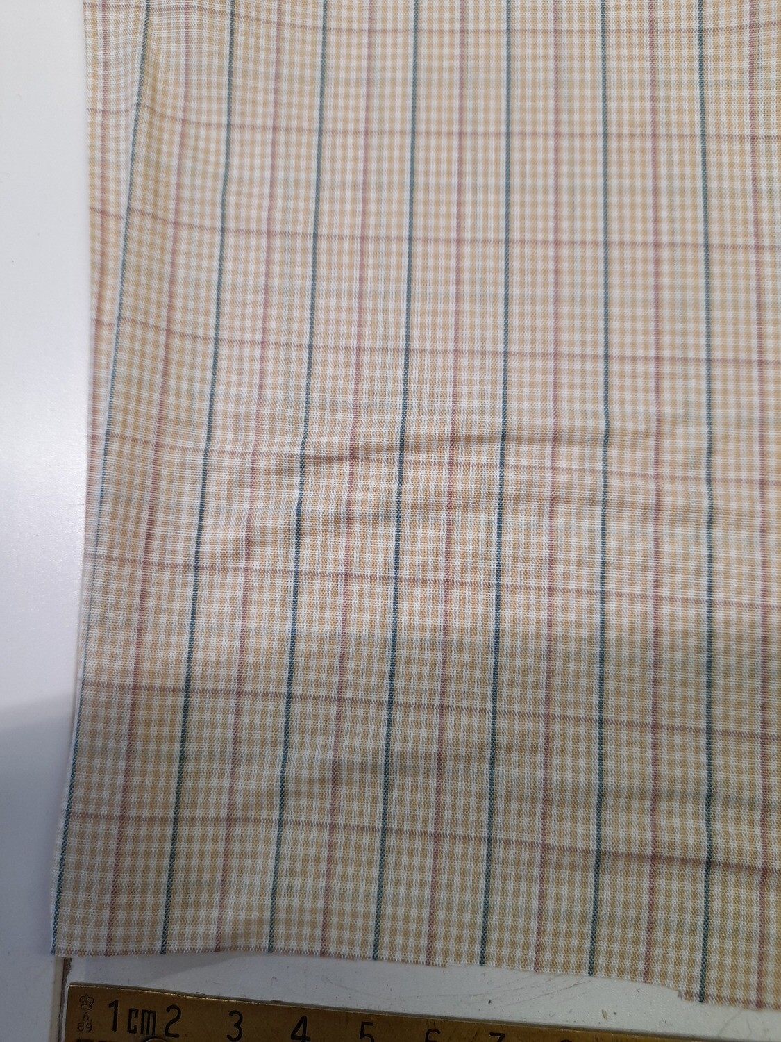 Cotton Poplin - Checked Shirting