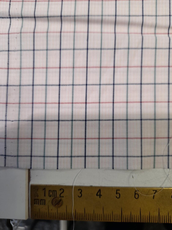 Cotton Poplin Shirting - Pink Check