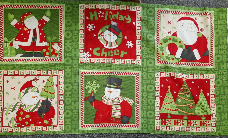 Christmas panel - Green