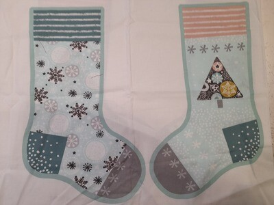 Christmas Stocking - Mint