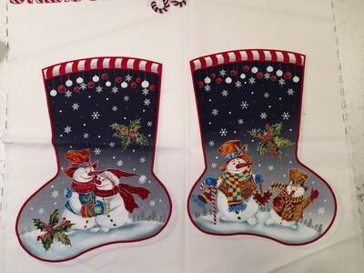 Christmas Stockings - Snow family