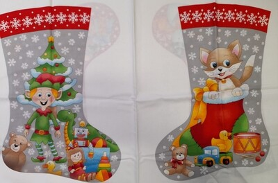 Christmas Stockings - 01 - Large