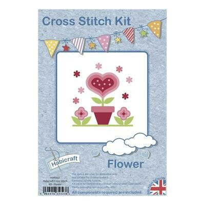 Hoop Cross Stitch kit - Flower