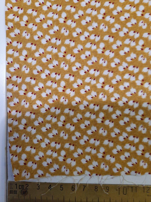 Viscose - Mustard print