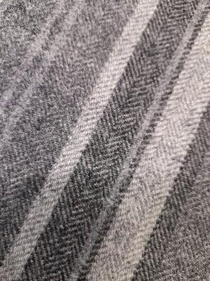 Wool - Grey Stripes