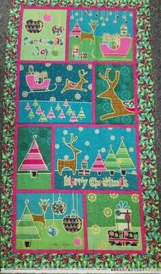 Benartex Merry Little Christmas Panel