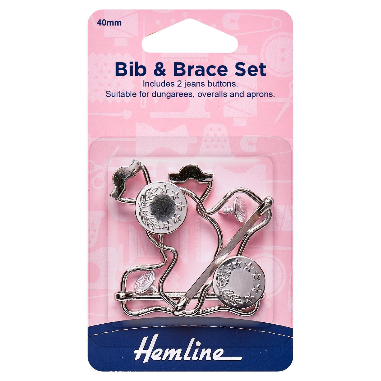 Bib and Brace Set - Nickel