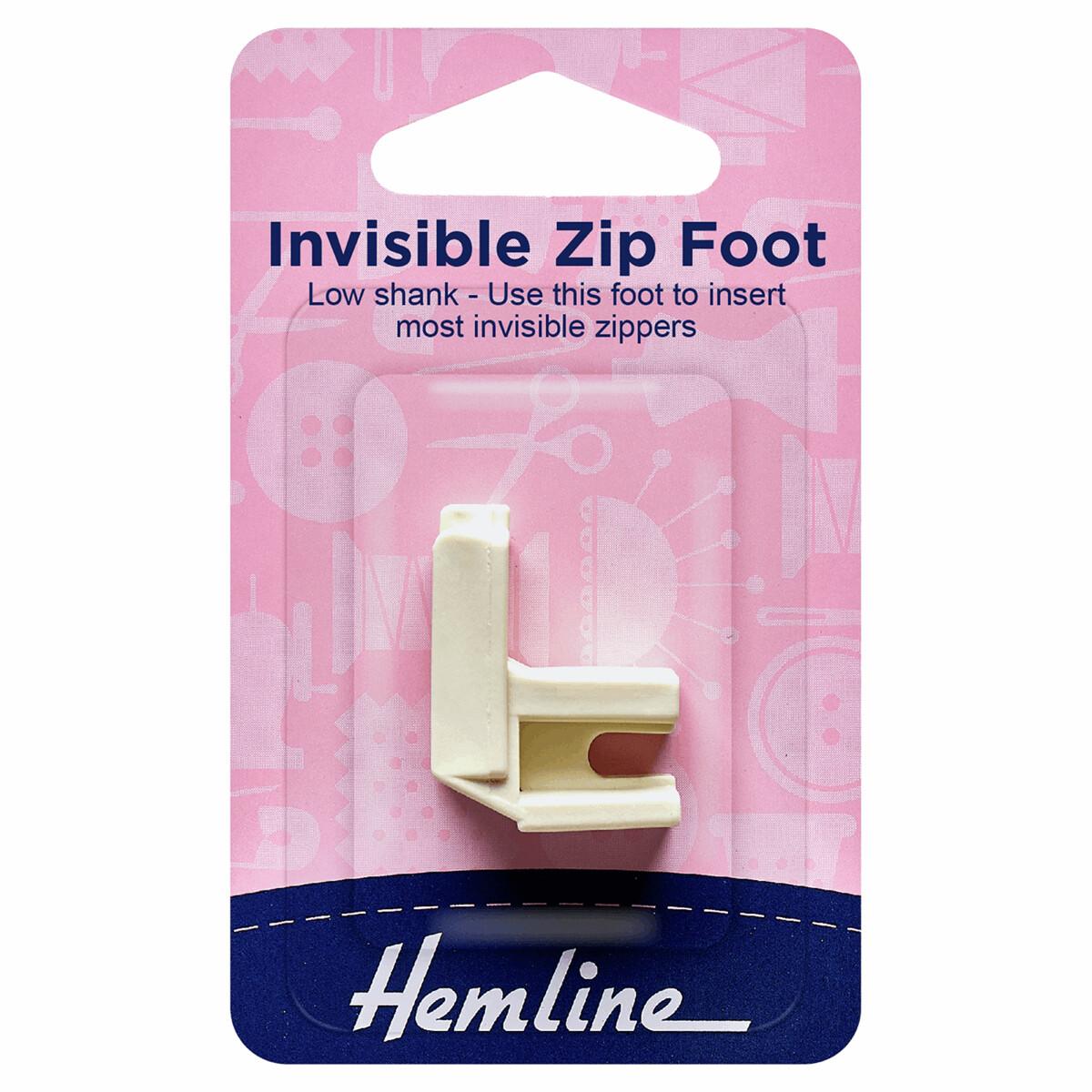 Zipper Foot - Invisible