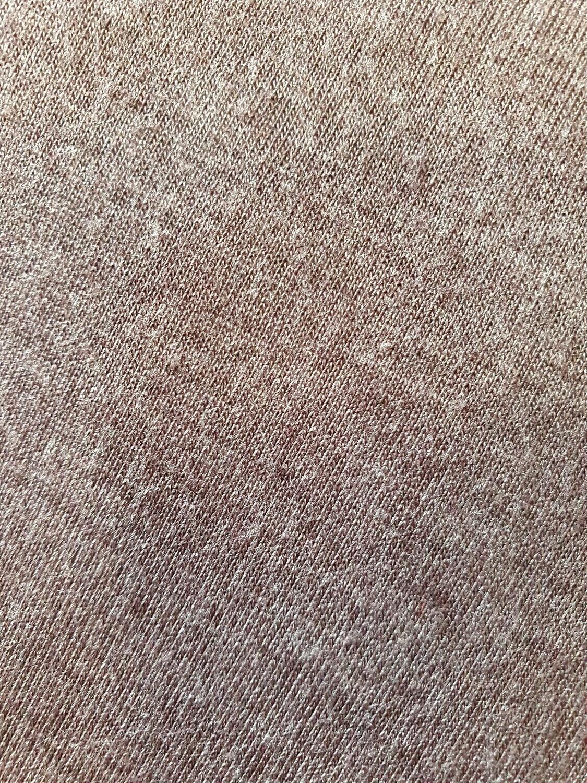 Light brown cotton jersey