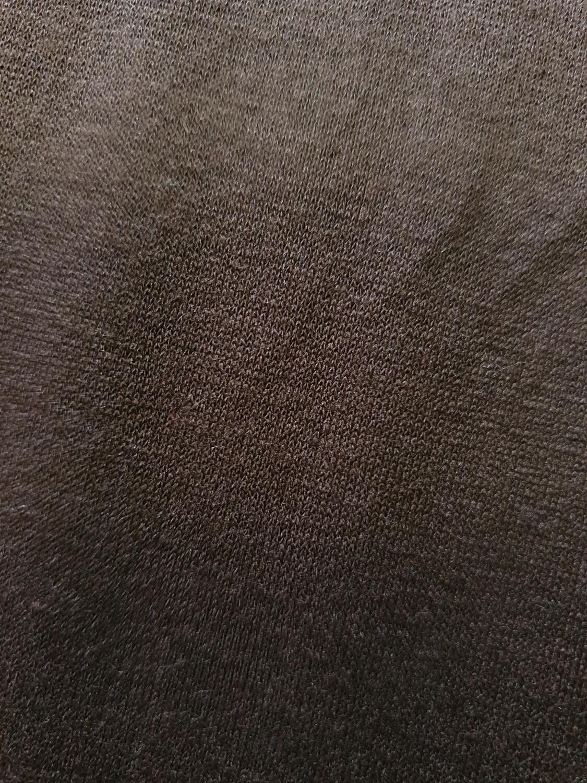 Dark Brown cotton jersey
