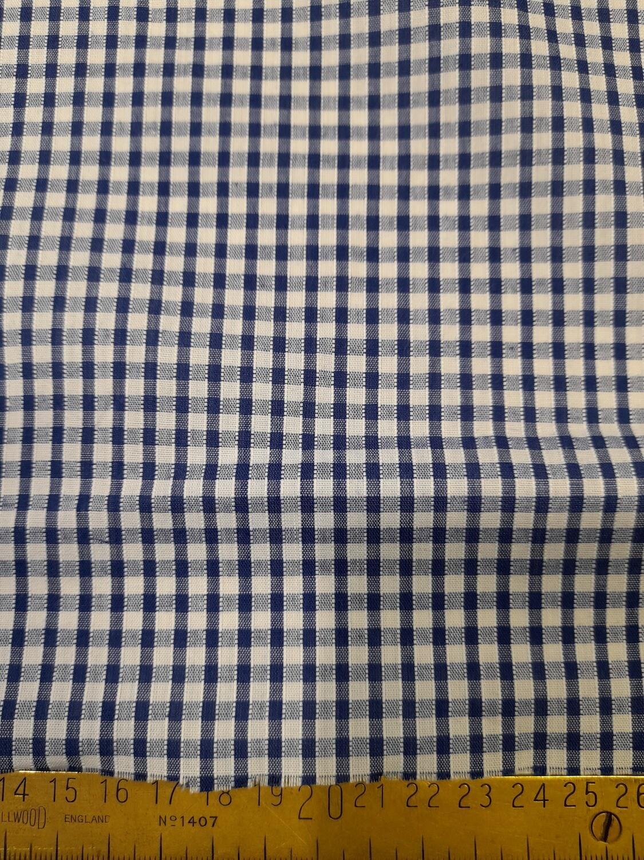 1/8th inch blue gingham