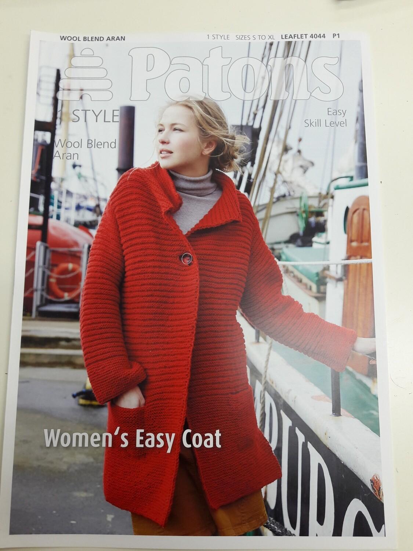 Women's Easy Coat