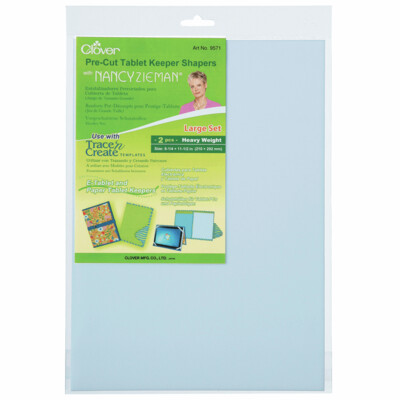 Clover Pre-cut Tablet keeper shapers
