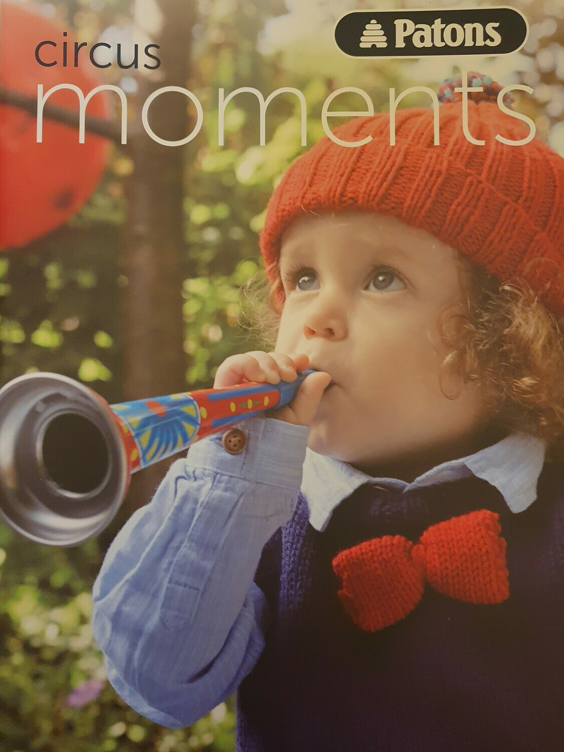 Circus Moments knitting book by Patons