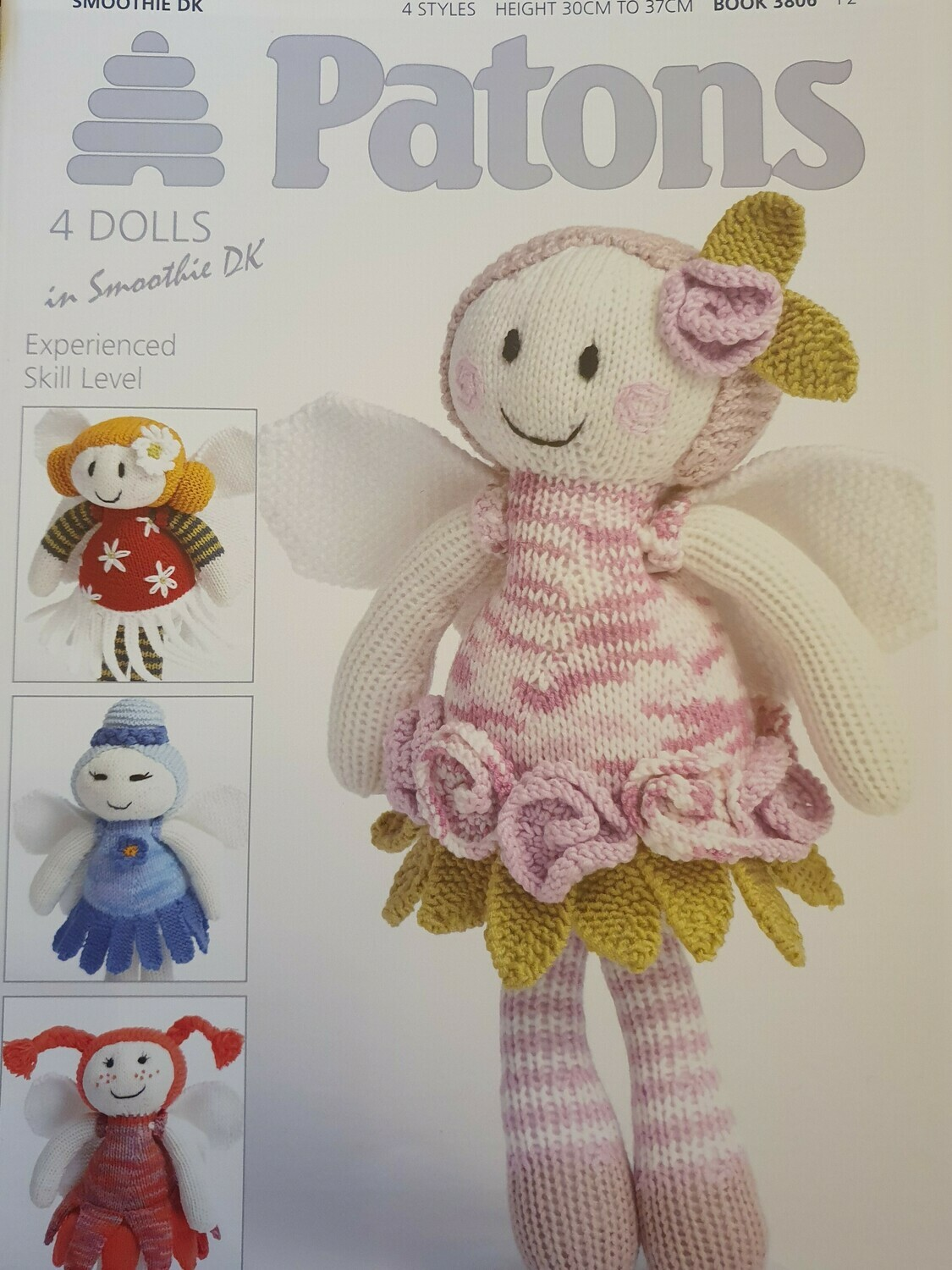 Smoothie DK: Fairy Dolls pattern book by Patons