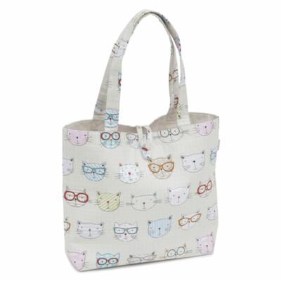 Craft Bag: Shoulder: Cool Cats
