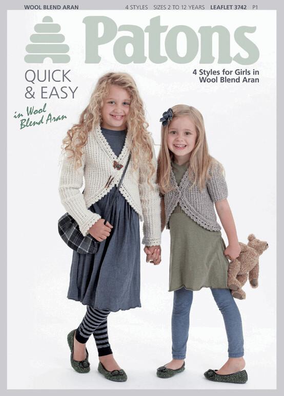 Wool Blend Aran: Kids by Patons