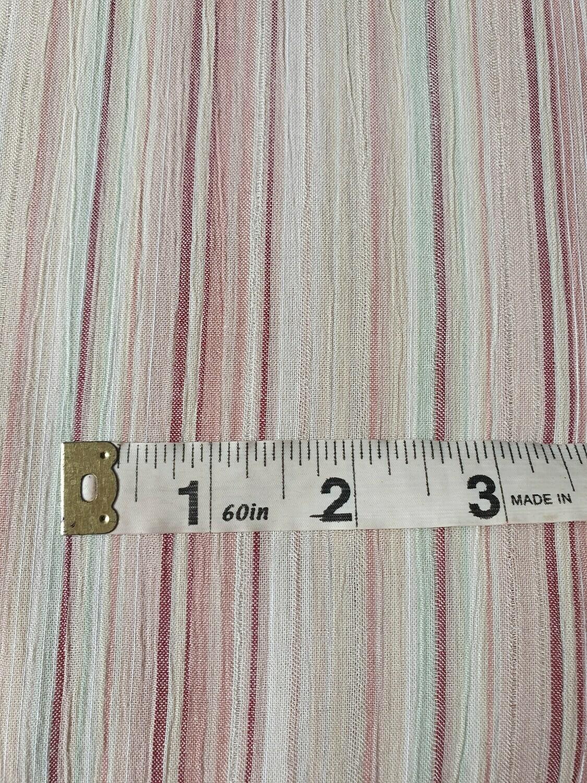 Cotton/Modal Mix - Pastel Stripes