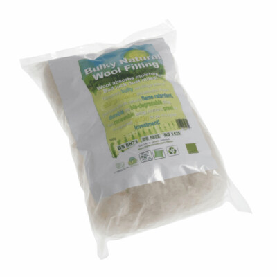 Natural Wool Toy Filling: 100g
