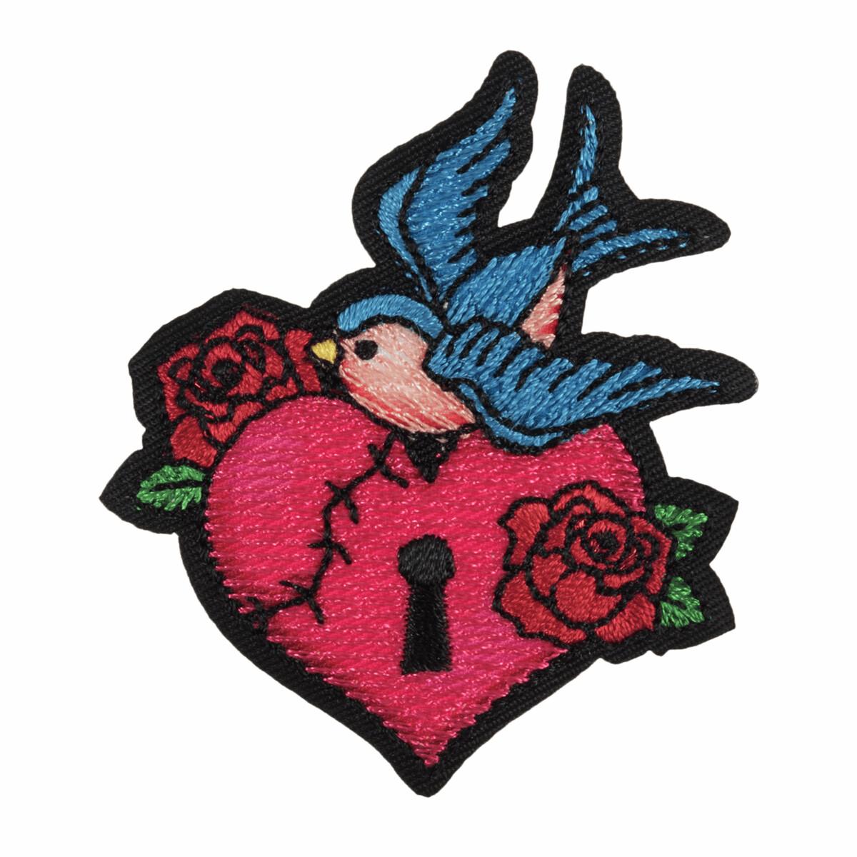 Motif - Heart Lock and Bluebird