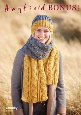 Hayfield Bonus Chunky Knit Patterns