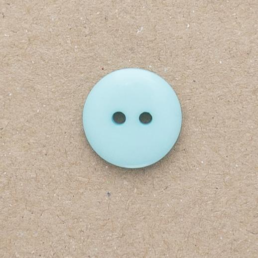 Button P3620 18mm Colour 33 Aqua