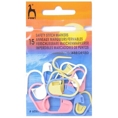 Safety Stitch Markers Assorted Colours