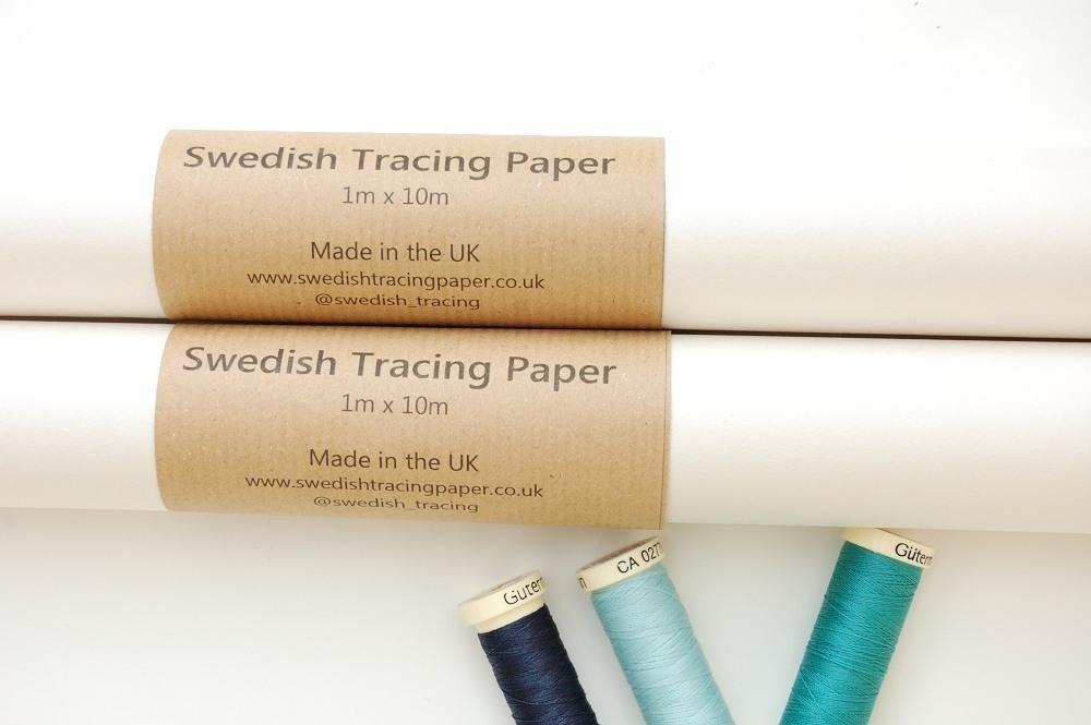 Swedish Pattern Tracing Paper 1m x 10m