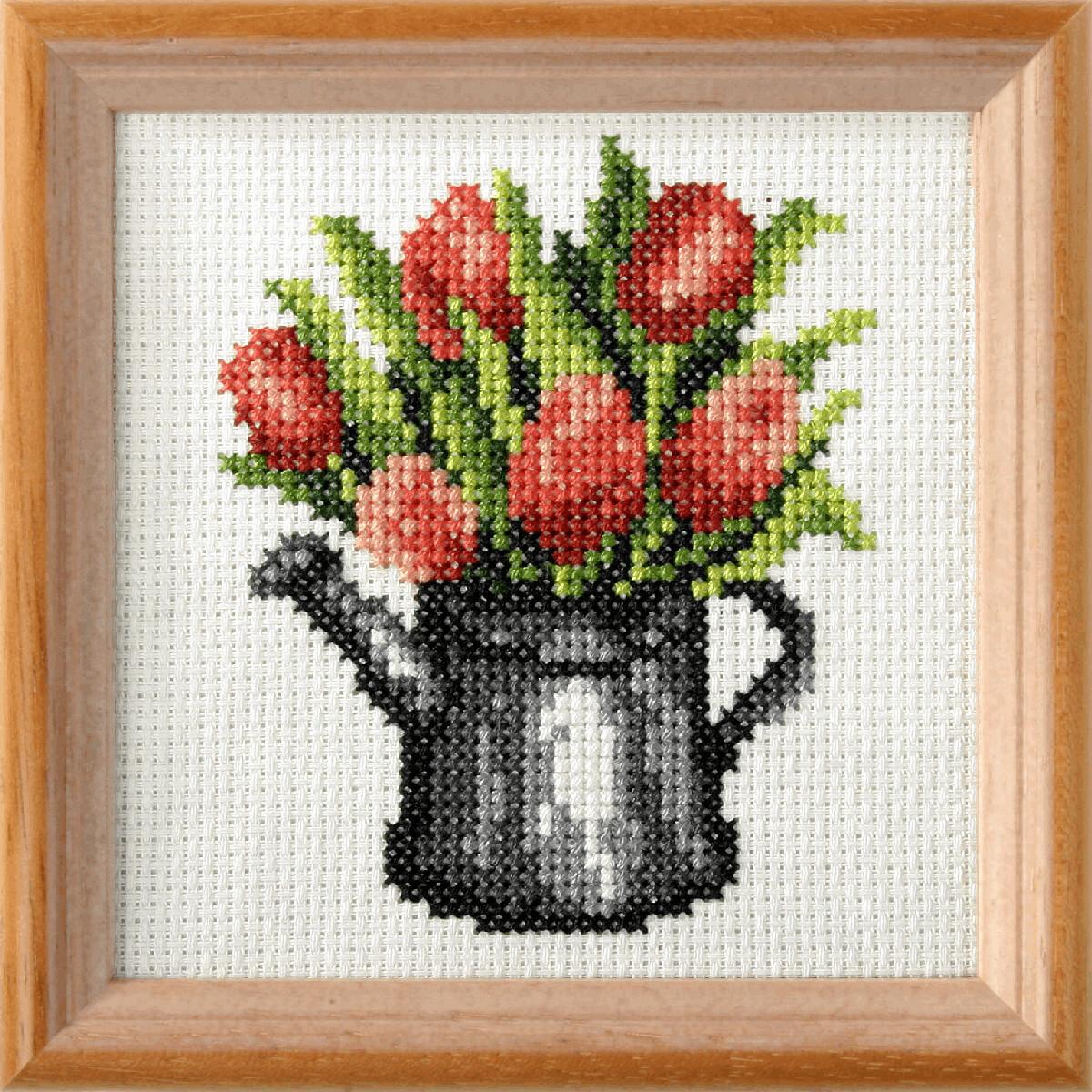 Cross Stitch Kit: Tulips