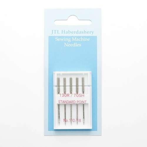 JTL Sewing machine needles standard point 110/18