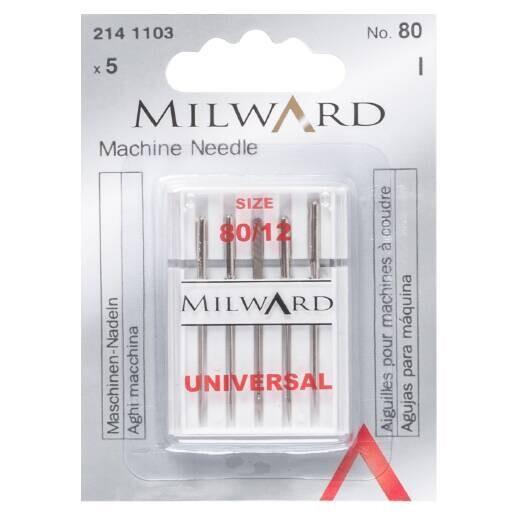 Milward Machine Needles 80/12