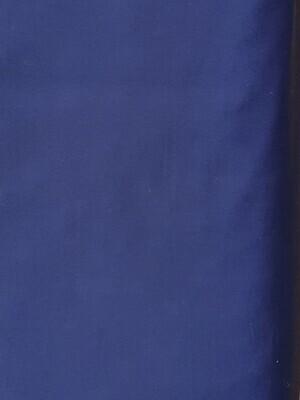 Edith -Cotton Poplin - Navy Blue