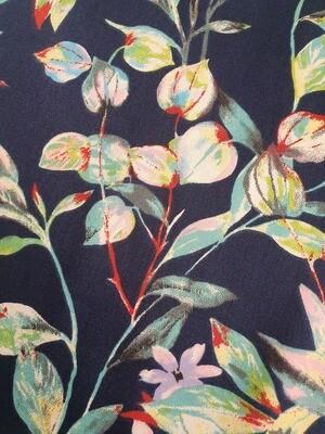Edith -Cotton Sateen - Flowers