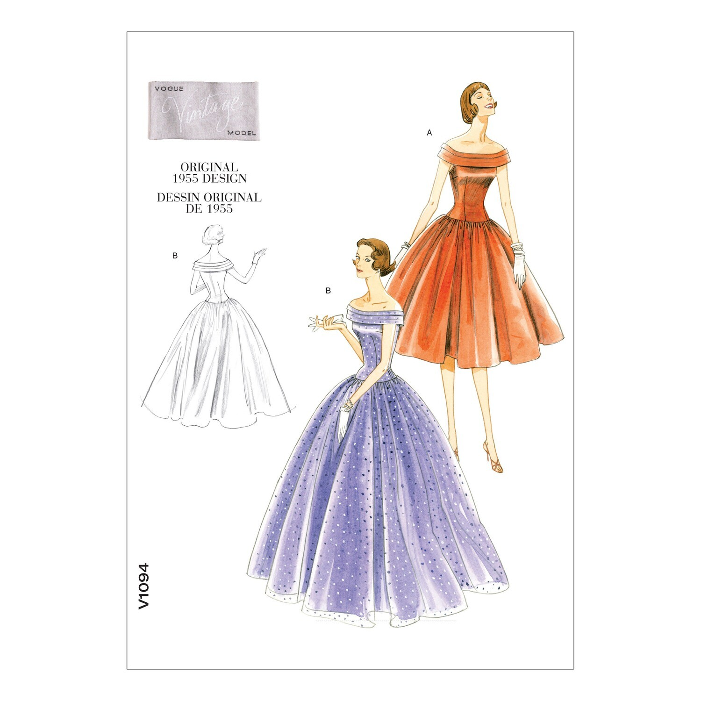 Vogue Vintage Sewing Pattern V1094 AA 6-12