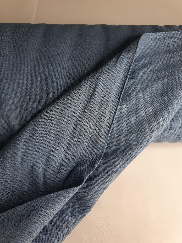 Jemima - Linen - Steel Blue